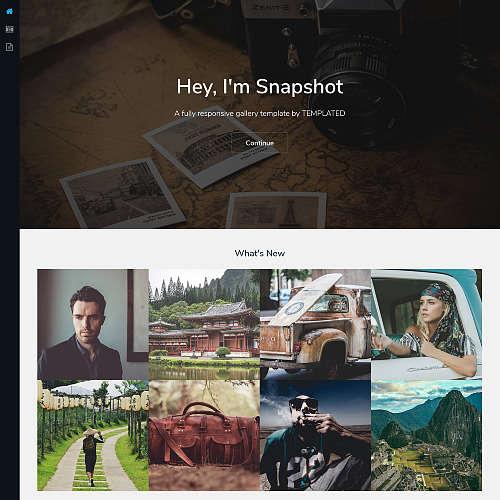 Spatial HTML Website Template